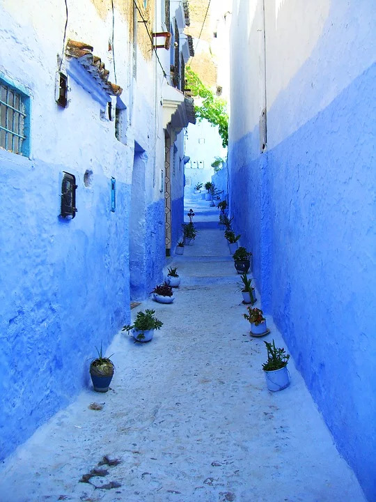 Lanes of Chefchaouen