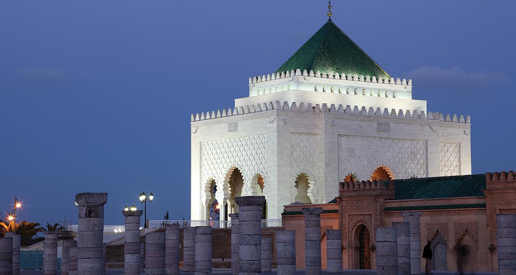 Mausoleum van Mohammed V