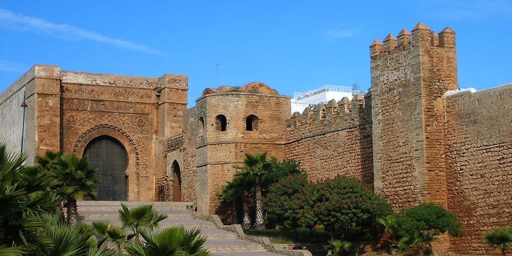 Kasbah van de Oudayas in Rabat