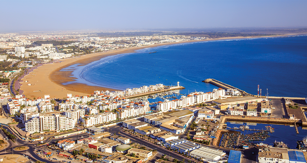 Panorama d'Agadir