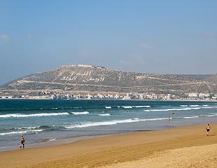 Get active or play it cool in the Bay of Agadir