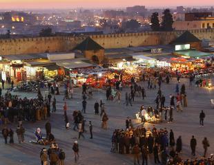 Fès-Meknès-souk -nuit shopping