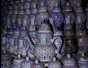 Pottery, the official art form of Safi