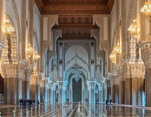Casablanca -architecture - héritage arabo-musulman