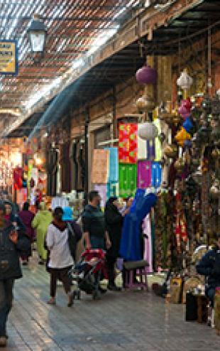 Marrakech-souk-Médina