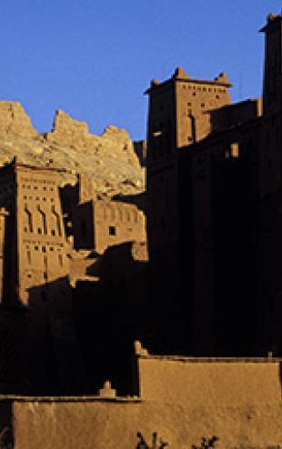 OUARZAZATE-Ait ben-habbou-monument -patrimoine culturel marocain