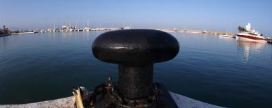 vue du port plage