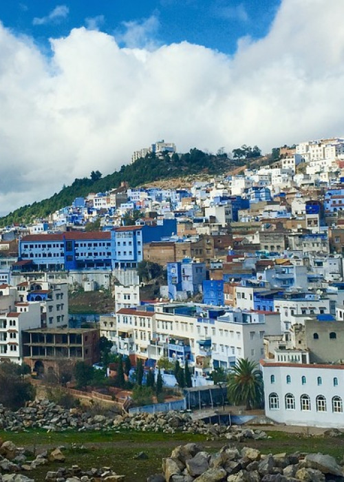 Chefchaouen is considered to be the most