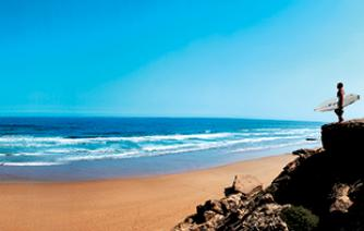 surf holidays  the inAtlantic sea in morocco