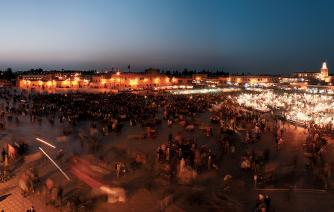 discover the jamea el fena place in marrakech on night tourism in morocco