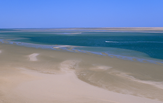 a mythical lagoon in dakhla tourism in morocco