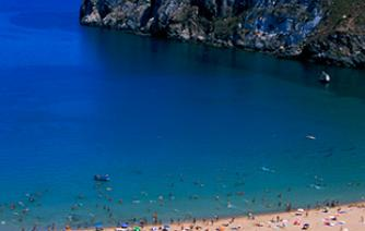 mediterranean beach in al hoceaima city for your holiday in morocco tourism in morocco