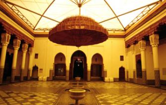 The Museum of Marrakech is an art museum located in the old center of Marrakesh