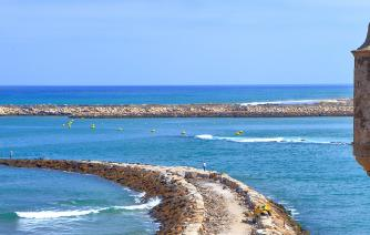 beach in tanger city tourism in morocco