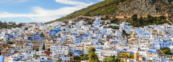 Chefchaouen the beautiful blue city tourism in morocco