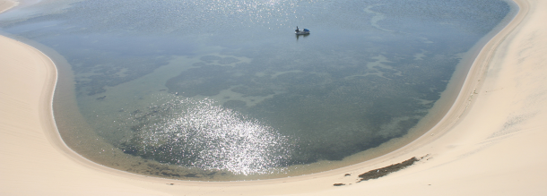 lagoon and Kitesurfing in dakhla tourism in morocco