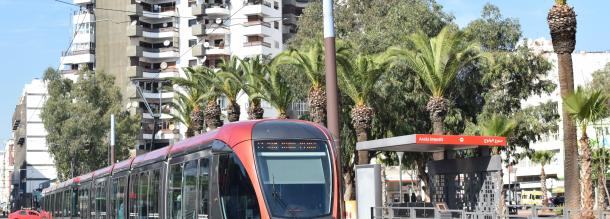 tramway of casablanca