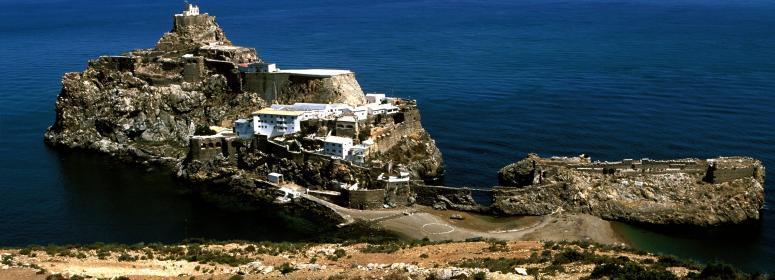 Spanish island of Velez de la Gomera in al hocaima