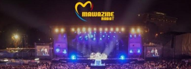 the festival of mawazine in bouregrague place