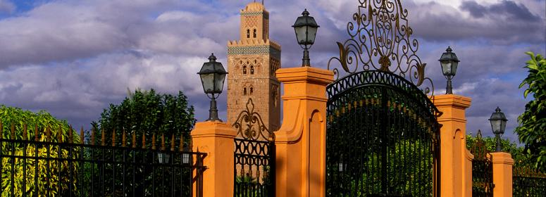 the-koutoubia-mosque-in-Marrakech-is-a-historical-monument-in-marrakech