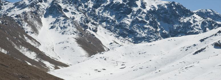 vist the oukaimeden ski resort  in toubkal National Park and practice the ski