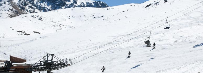 visit the station of oukaimeden in toubkal National Park and practice the ski