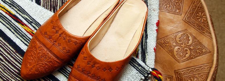 Купите изделия местных ремесленников на улицах Таруданта