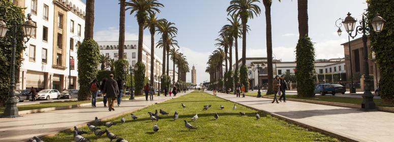 rabat capital a modern city morocco-travel