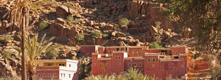 tradional town in morocco