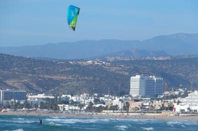 nautical-sport-Kitesurfing-and-others-activities in morocco