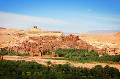 natural tourism in morocco visit ouarzazat Ait ben habbou town