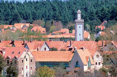 rooftops in ifrane tourism of morocco