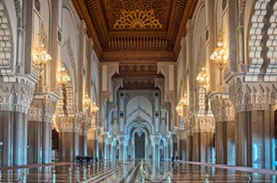 the architecture Arab Muslim in casablanca an cultural heritage tourism in morocco