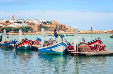 discover the beautiful landscape in the oud of bouregregue in Rabat