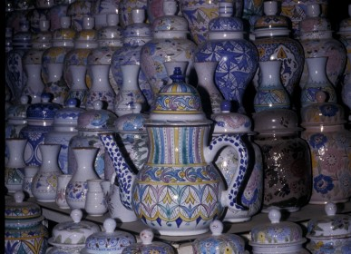 ancestral Pottery in safi in an art tourism in morocco