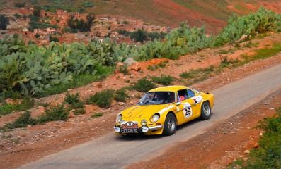 Maroc Historic Rally 2018 une mythique épreuve marocaine