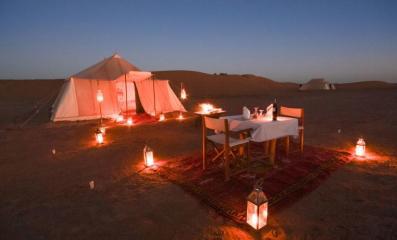 bivouac de luxe desert