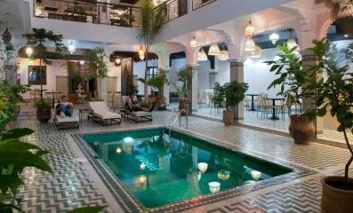 This riad in Marrakech was selected among the 10 most