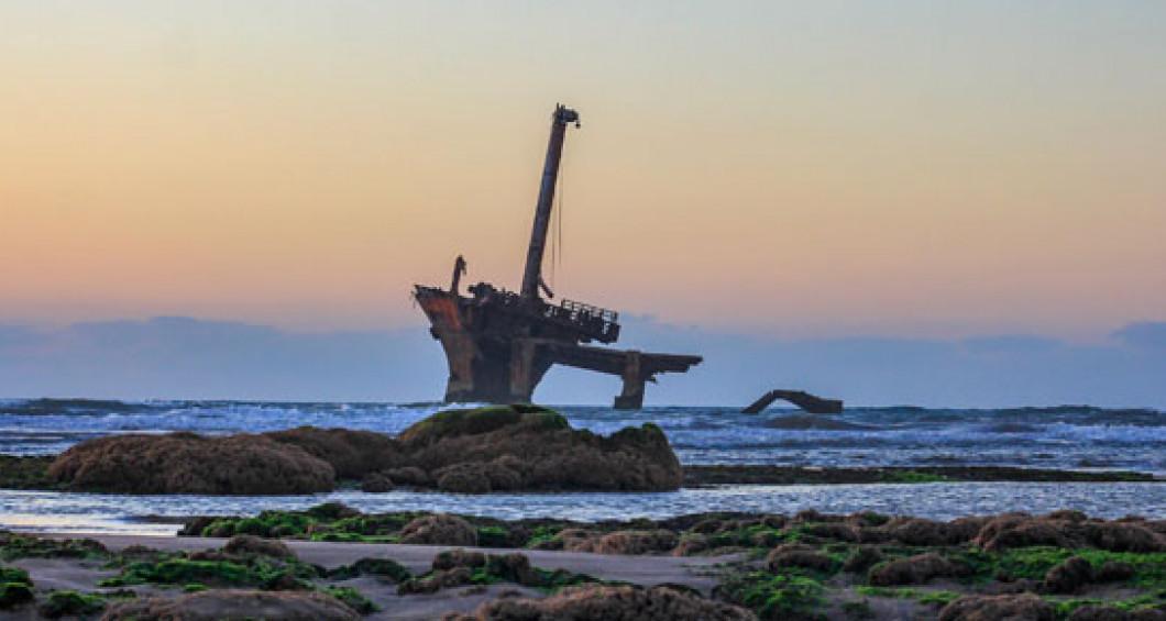 Strand von El Haouzia