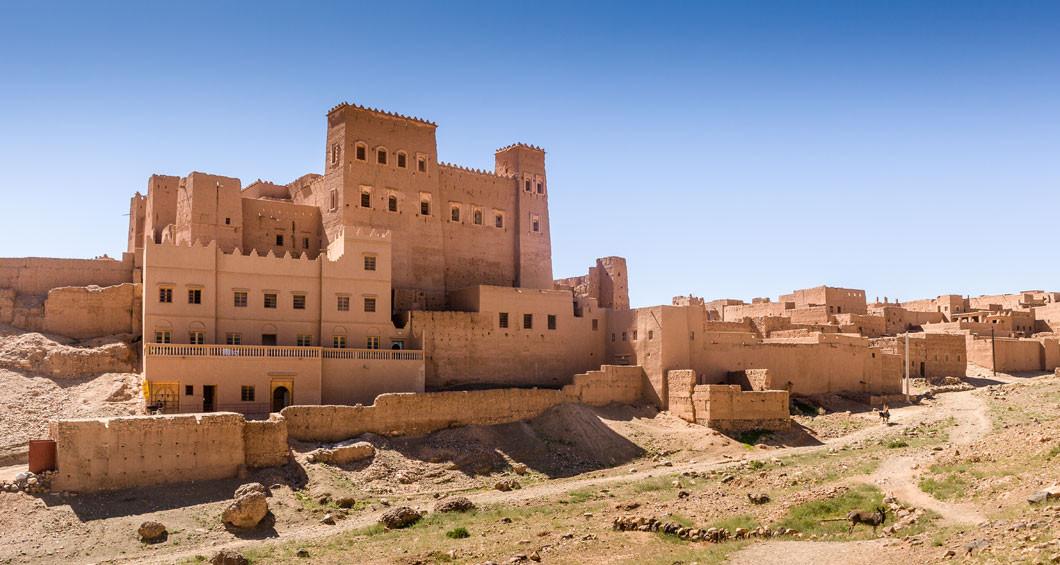 Kasbah de la aldea de Oulad Othmane