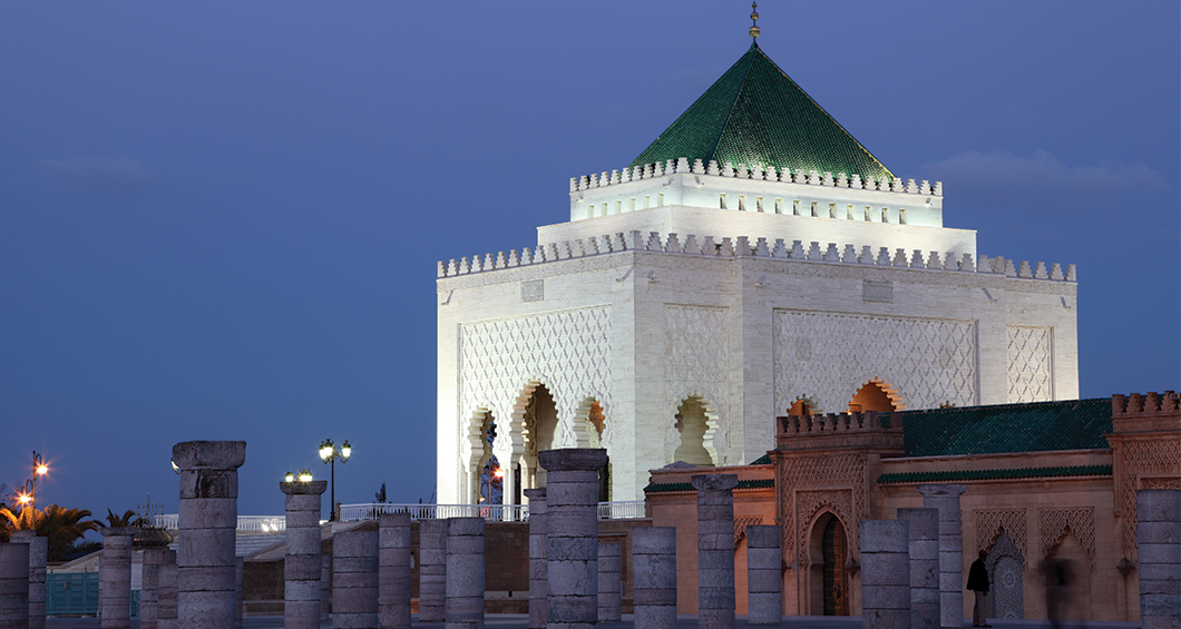 Mausoleum av Mohammed V