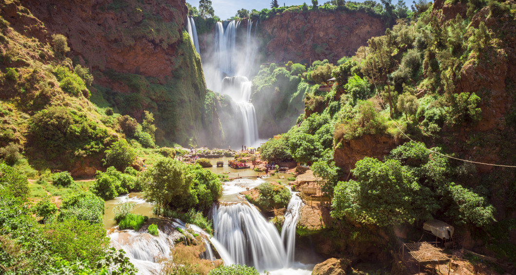 Ouzoud vattenfall