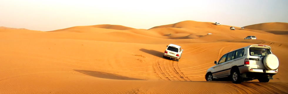 Sport unici in mezzo al deserto
