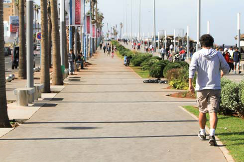 Casablanca, cidade ativa
