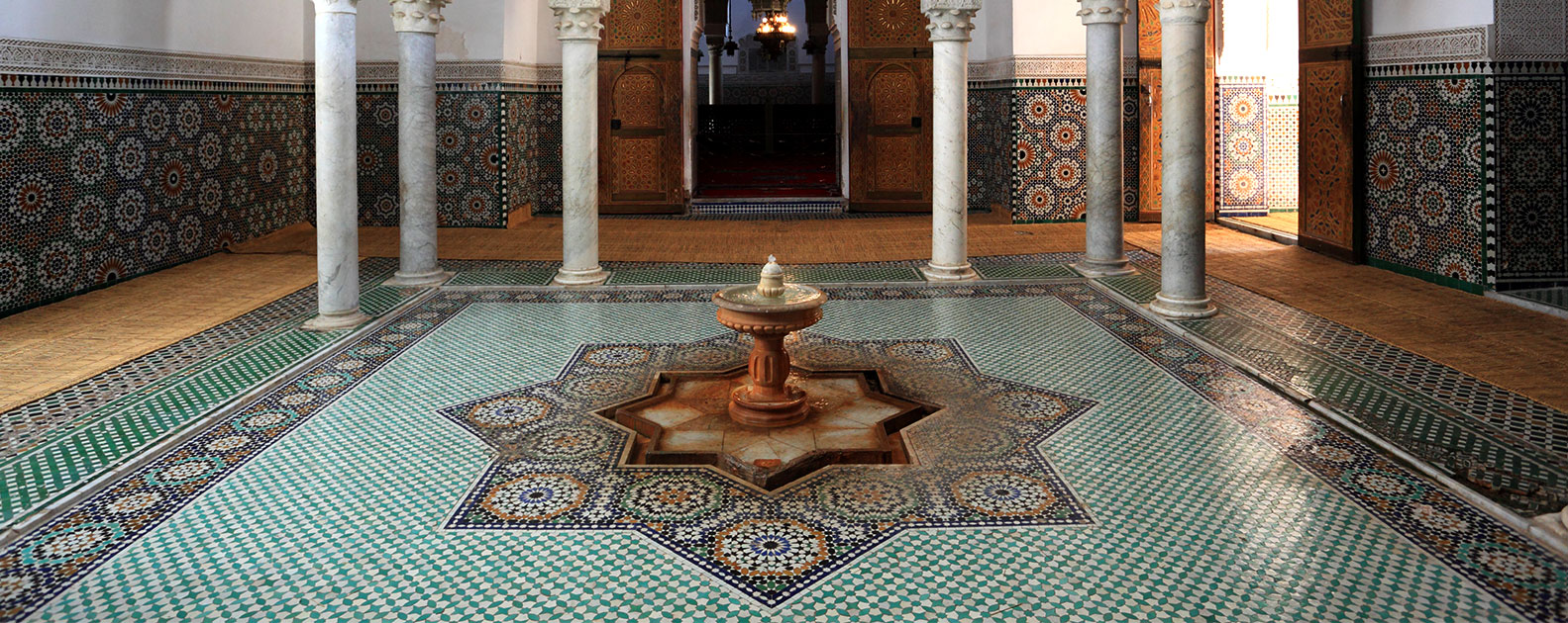Mausoleum of Moulay Ismail in Meknes