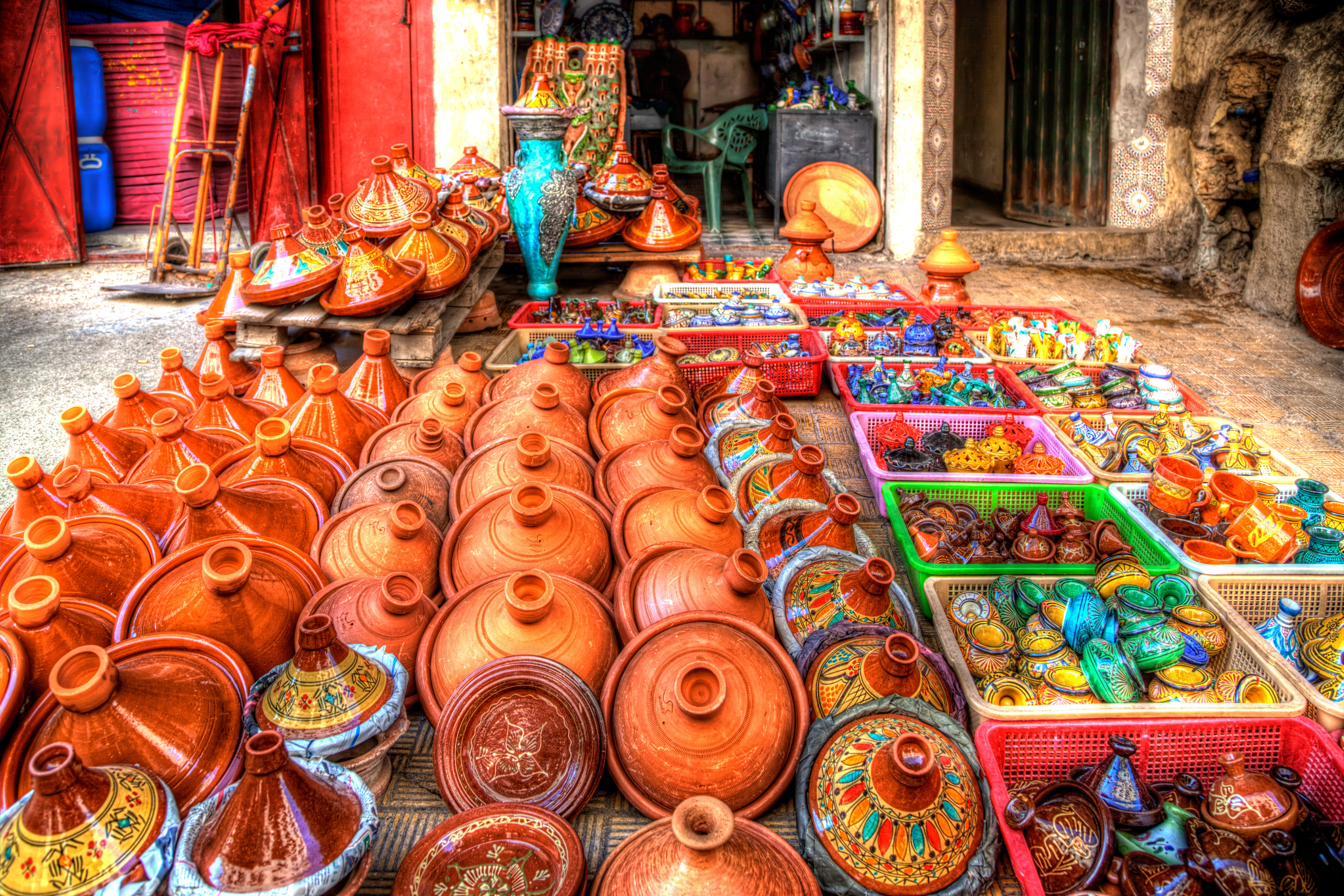 Safi, walk in the land of potters