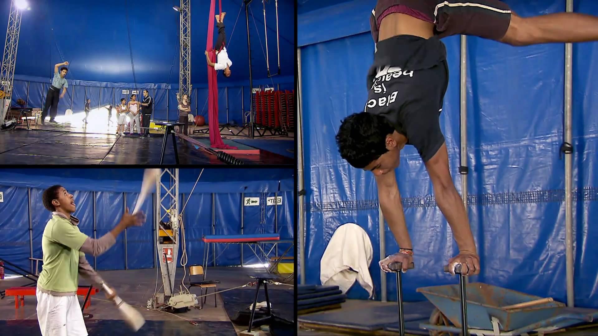 Rabat, Salé - Ecole du Cirque Shems'y