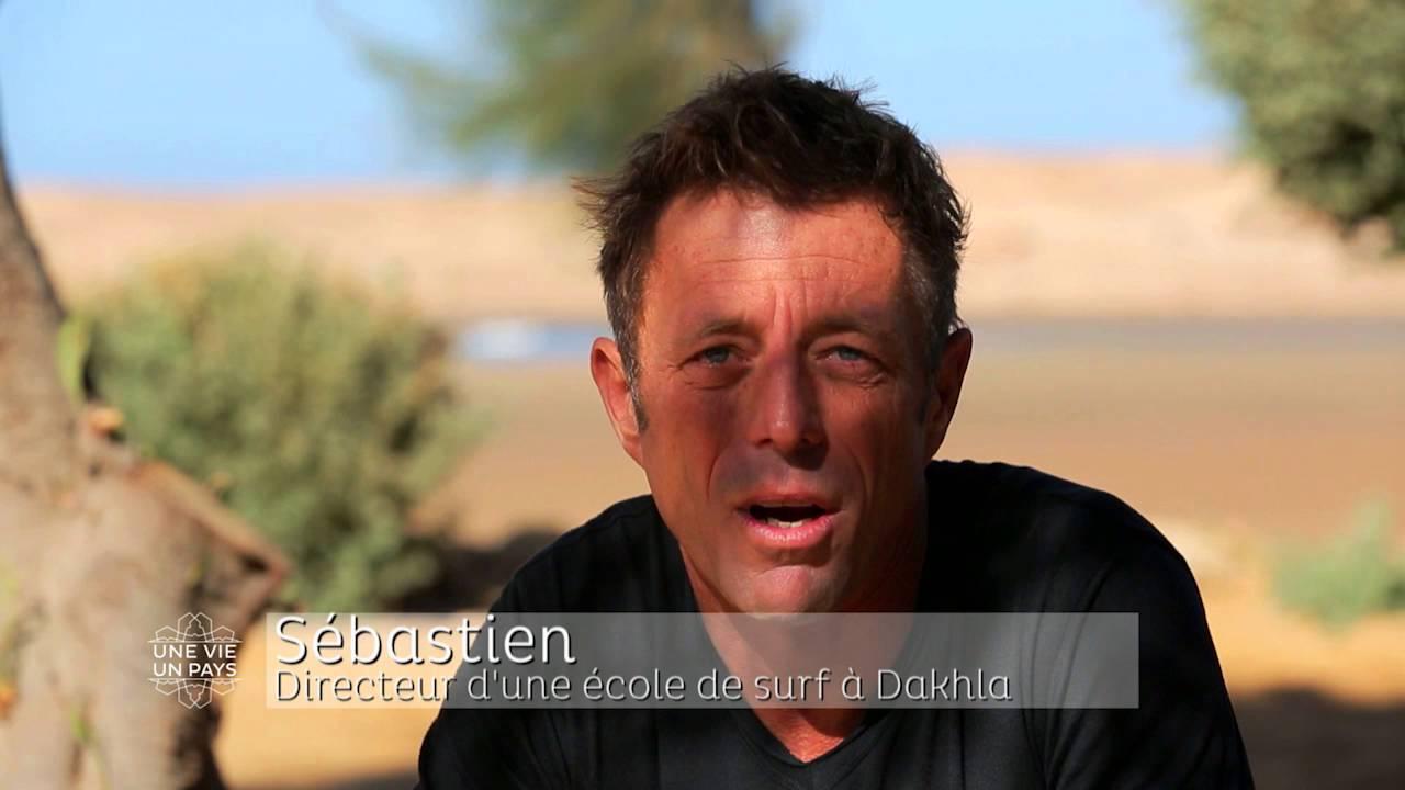 Sébastien nous parle de son projet professionnel à Dakhla dans « Une Vie, Un Pays » sur M6