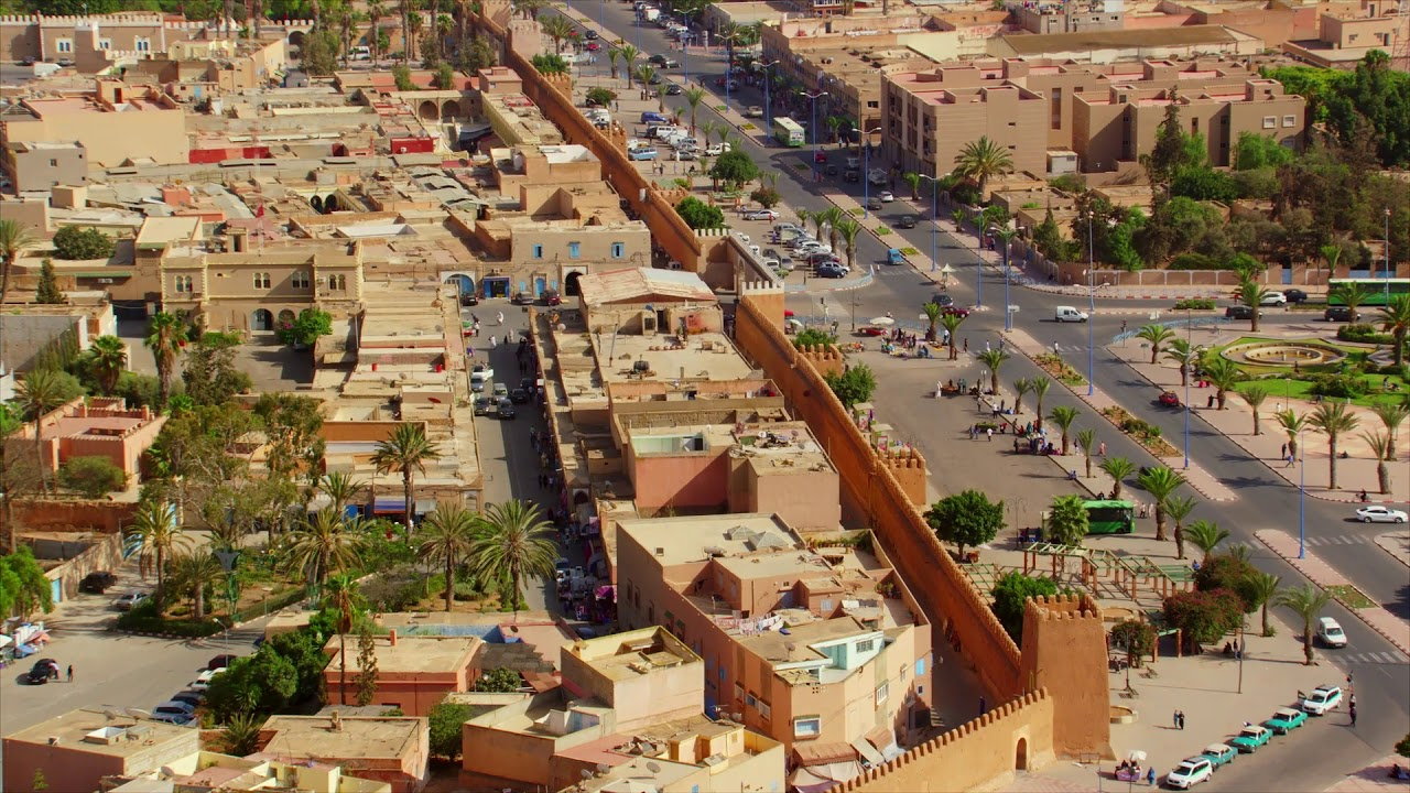 #MarocVuDuCiel, Extraits: Agadir, Tiznit, Guelmim, Amtoudi