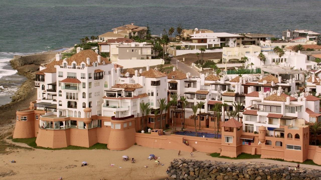 #MarocVuDuCiel, Extraits: Rabat, Salé, El Jadida, Casablanca, Oualidia